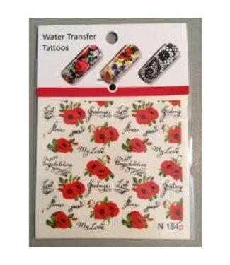 Water Transfer Tattoo N184p