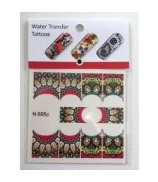 Water Transfer Tattoo N695P