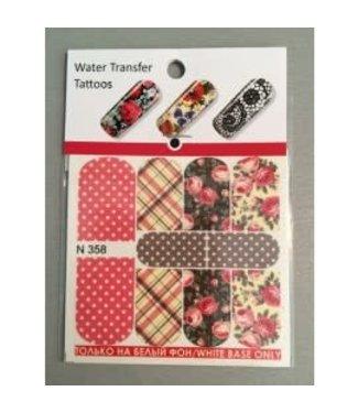 Water Transfer Tattoo N358