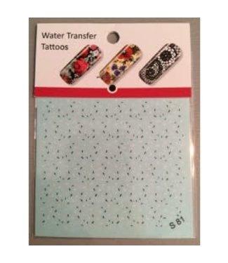 Water Transfer Tattoo S81