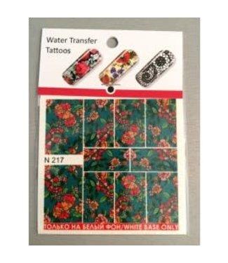 Water Transfer Tattoo N217