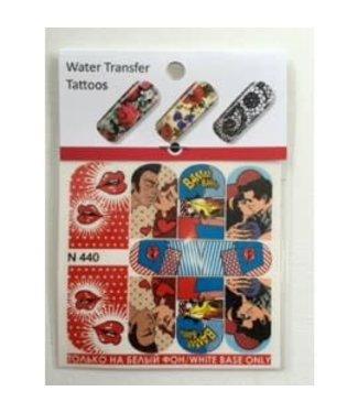 Water Transfer Tattoo N440