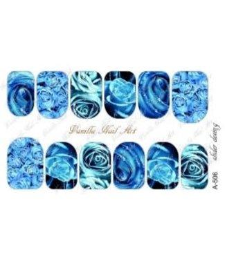 Vanilla Nail Art VNA Waterdecal Prints A 506