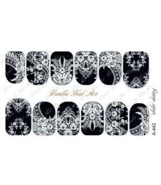 Vanilla Nail Art VNA Waterdecal Prints A 442