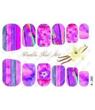 Vanilla Nail Art VNA Waterdecal Prints A 265