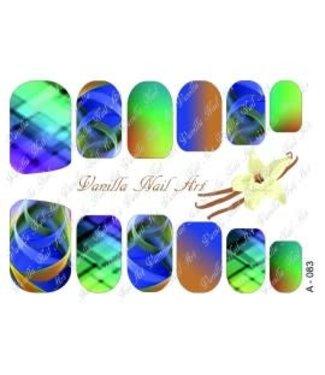 Vanilla Nail Art VNA Waterdecal Prints A 083