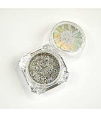 Urban Nails Flakes Holo Silver