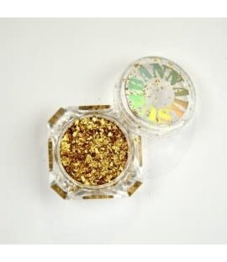 Urban Nails Flakes Holo Gold