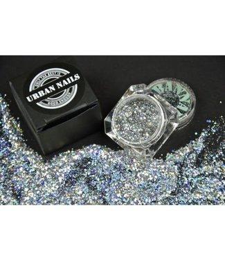 Urban Nails Silver Star Glitter