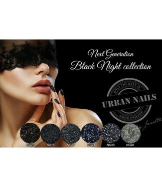 Urban Nails Black Night Collection