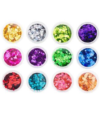 Magnetic Nail Art Confetti set