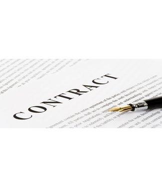Contract Tafelhuur Nagelstyliste