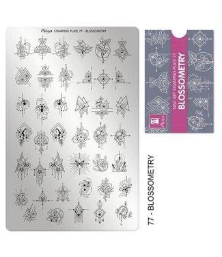 Moyra Stempelplaat 77 Blossometry