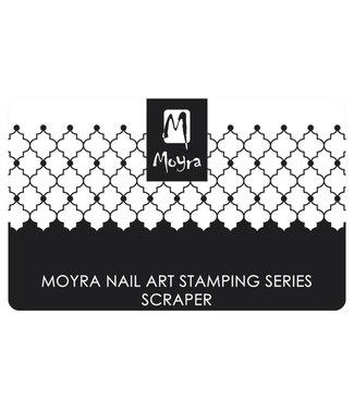 Moyra Schraper nr. 7 Zwart/wit
