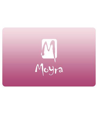 Moyra Schraper nr. 8 Roze met Moyra logo