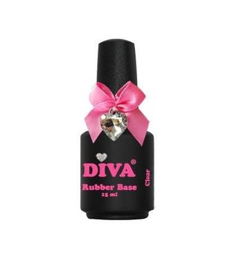 Diva Rubber Base Clear 15 ml.