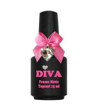 Diva Frozen Super Matte Topcoat 15 ml.