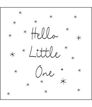 Together Wenskaart - Hello little one