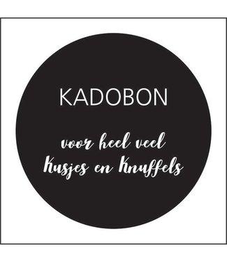 Together Wenskaart - Kadobon voor kusjes en knuffels