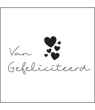 Together Wenskaart - Van Harte Gefeliciteerd