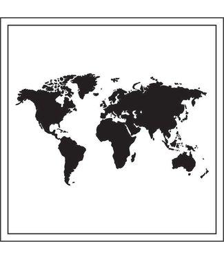 Together Wenskaart - Wereldkaart