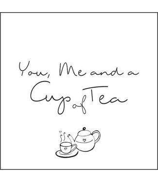 Together Wenskaart - You me and a cup of tea