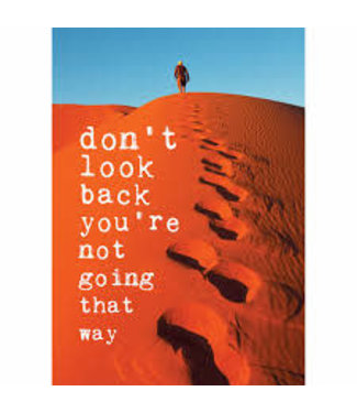 Kaart Don't look back
