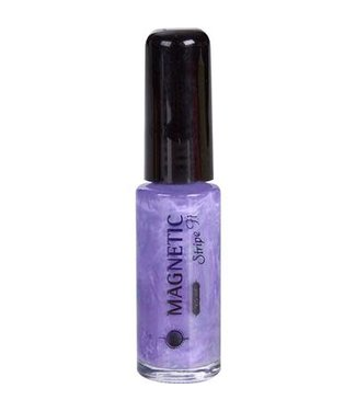 Magnetic Nail Design 11 Stripe-it Purple Pink
