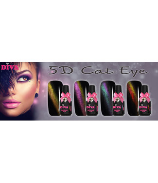 Diva 5D Cat Eye Set 01 t/m 04
