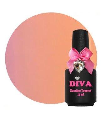 Diva Dazzling Topcoat Nude 15 ml.