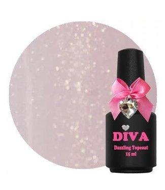 Diva Dazzling Topcoat Sparkling 15 ml.