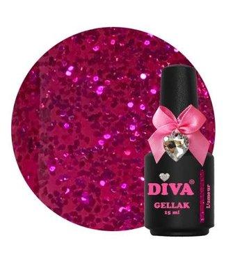 Diva 20 Gellak L'amour 15 ml.