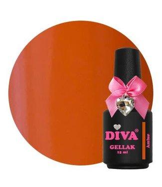 Diva Gellak Amber 15 ml.