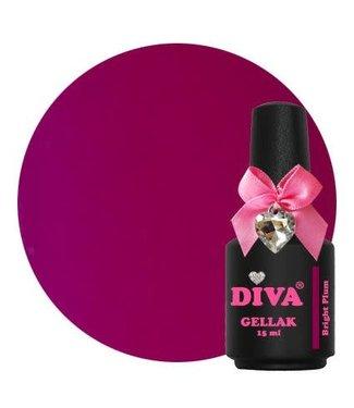 Diva Gellak Bright Plum 15 ml.
