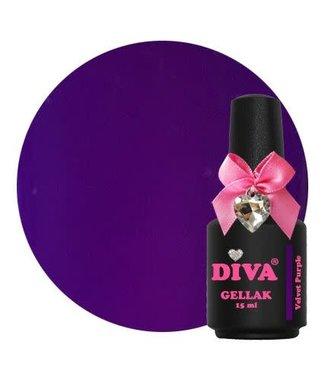 Diva Gellak Velvet Purple 15 ml.