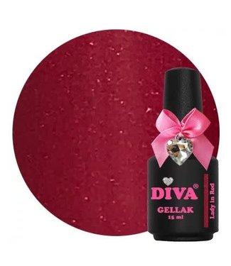 Diva Gellak Lady in Red 15 ml.