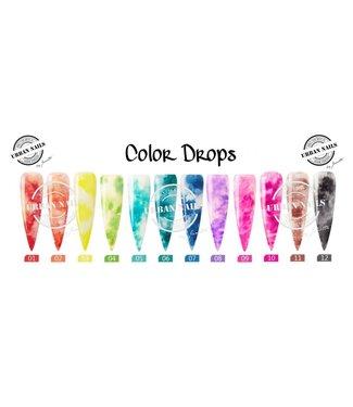 Urban Nails Color Drops Set 12 st.