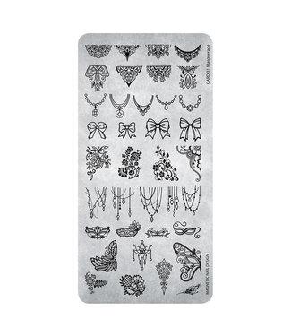 Magnetic Stempelplaat 31 Masquerade