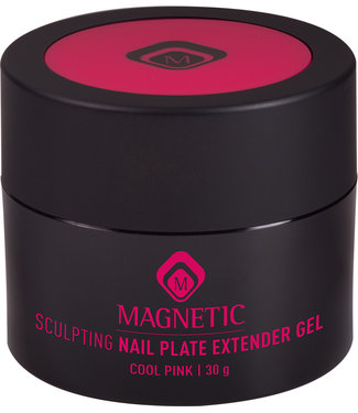 Magnetic Nail Design Sculpting Nail Plate Extender 30 gr. Cool Pink
