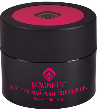 Magnetic Nail Design Sculpting Nail Plate Extender 30 gr. Warm Pink