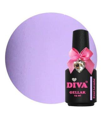 Diva Gellak Sweet Lavender 15 ml.
