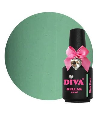Diva Gellak Minty Green 15 ml.