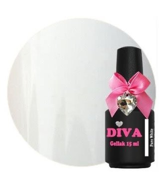 Diva Gellak Pure White 15 ml.