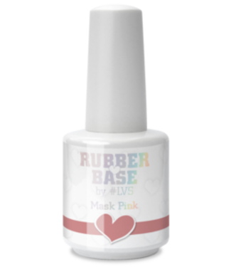 Loveness Rubber Base Mask Pink #LVS