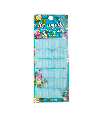 Magnetic Nail Design Glue Pads herbruikbaar