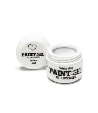 Loveness Paint Gel 01 White