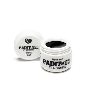 Loveness Paint Gel 02 Black