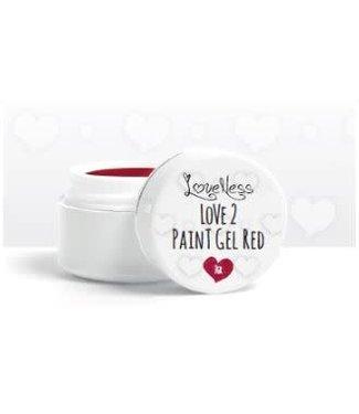 Loveness Paint Gel 03 Red