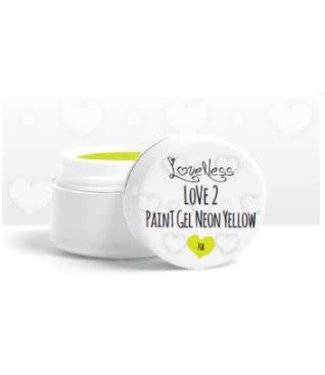 Loveness Paint Gel 05 Neon Yellow
