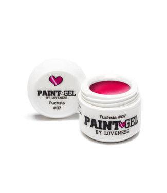 Loveness Paint Gel 07 Fuchsia